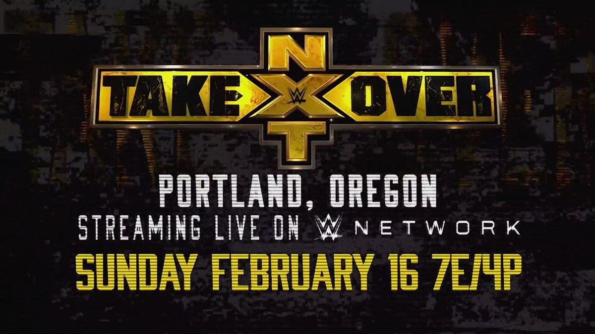 NXT TakeOver Portland 2020 Poster