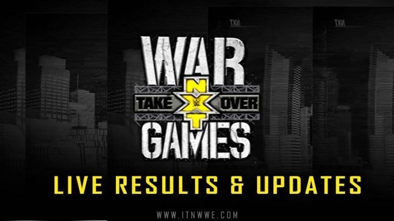 NXT TakeOver: WarGames 2019- Live Results & Updates- Balor vs Riddle, First Women's War Games