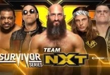 NXT Team For Survivor Series 2019