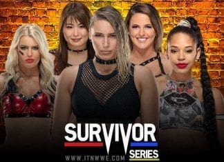 NXT Women Survivor Series 2019 Team