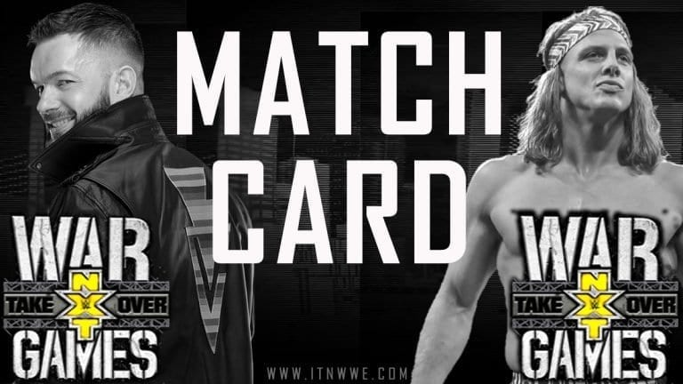 NXT TakeOver- WarGames 2019 Match Card, Preview & Predictions
