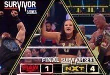 NXT Wins Survivor Series 2019 Battle