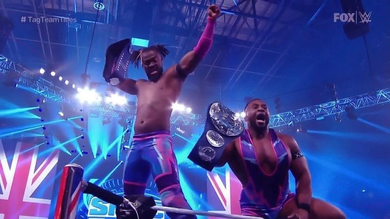 The New Day Become 7 Times Tag Team Champions