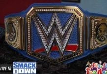 New WWE Universal Championship belt