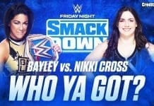 Nikki Cross vs Bayley SmackDown 15 November 2019