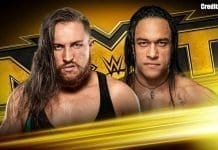 Pete Dunne vs Damien Priest NXT 6 November 2019