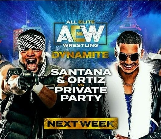 Private Party vs Proud & Powerful AEW Dynamite 20 November 2019 1