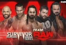 RAW Team Survivor Series 2019