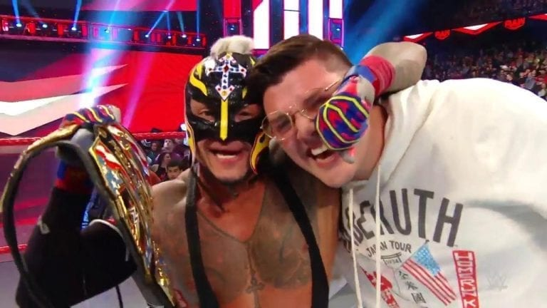 Randy Orton Helps Rey Mysterio To Become New US Champ