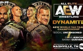 SCU vs Inner Circle AEW Tag Title Match Dynamite 13 November 2019