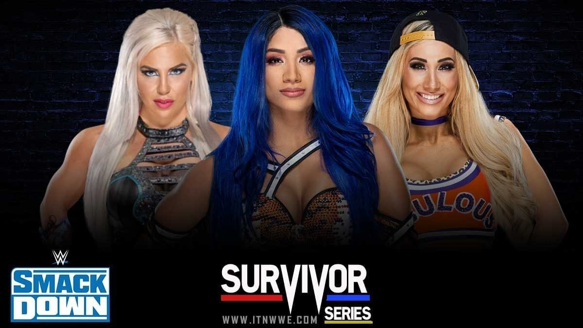 Sasha Banks Leads SmackDown at Survivor Series 2019