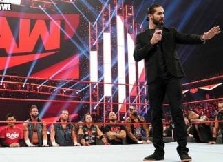 Seth Rollins Townhall Meeting on RAW 25 November 2019
