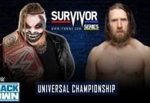 The Fiend Bray Wyatt vs Daniel Bryan - WWE Universal Championship, Survivor Series 2019