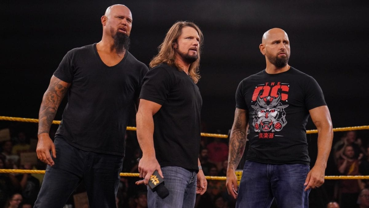 The Oc Invades Nxt Balor Teases Bullet Club Reunion Itn Wwe