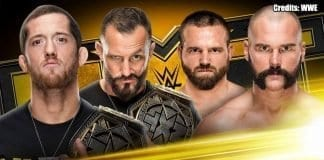 The Revival vs The Undisputed Era NXT 20 November 2019