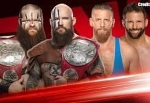 The Viking Raider vs Zack Ryder & Curt Hawkins - WWE RAW Tag Team Championship Match, RAW episode of 18 November 2019