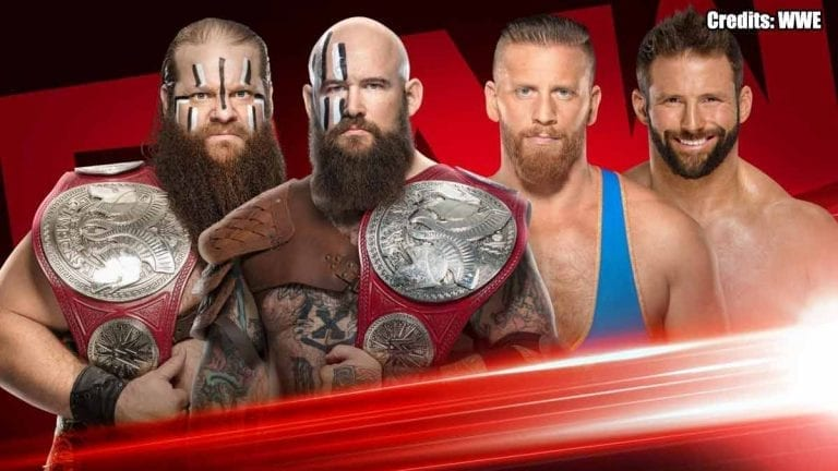 Ryder & Hawkins To Contest for RAW Tag Title Next Week
