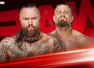 Aleister Black vs Buddy Murphy RAW 30 December 2019
