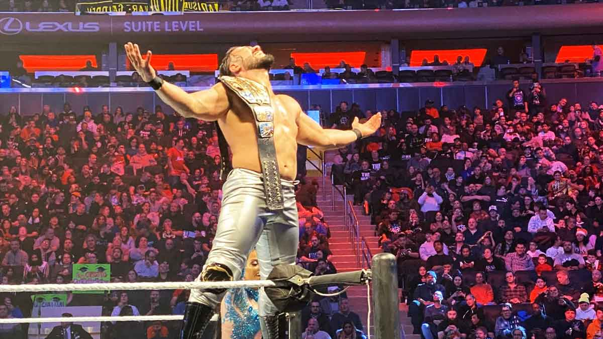 Andrade defeated Rey Mysterio to become the new WWE United States Champion