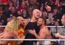 Baron Corbin got the help from Dolph Ziggler & the Revival at WWE TLC 2019