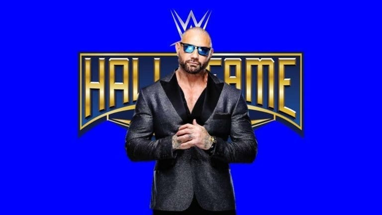 Dave Batista Announced for WWE Hall of Fame 2020