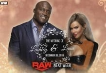 Lana and Bobby Lashley's Wedding RAW 30 December 2019