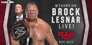 Brock Lesnar RAW 6 January 2020