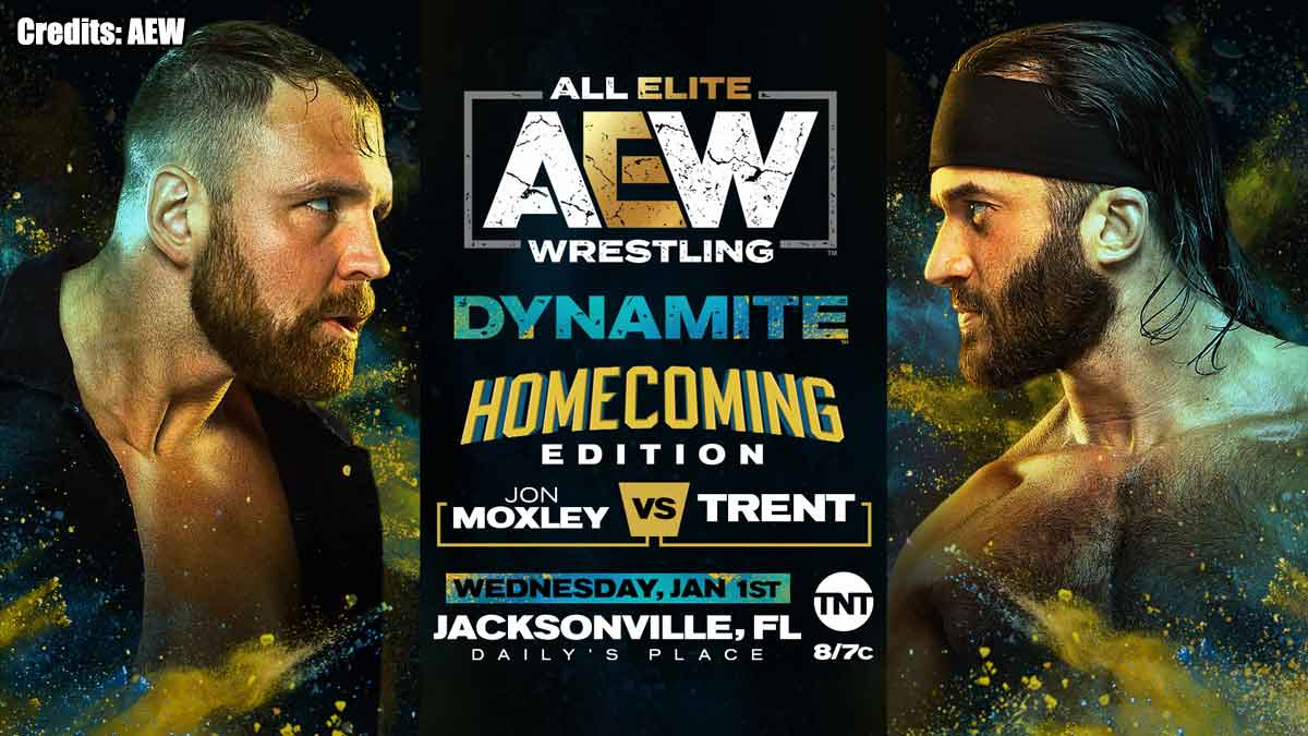 Jon Moxley vs Trent AEW Dynamite 1 January 2020