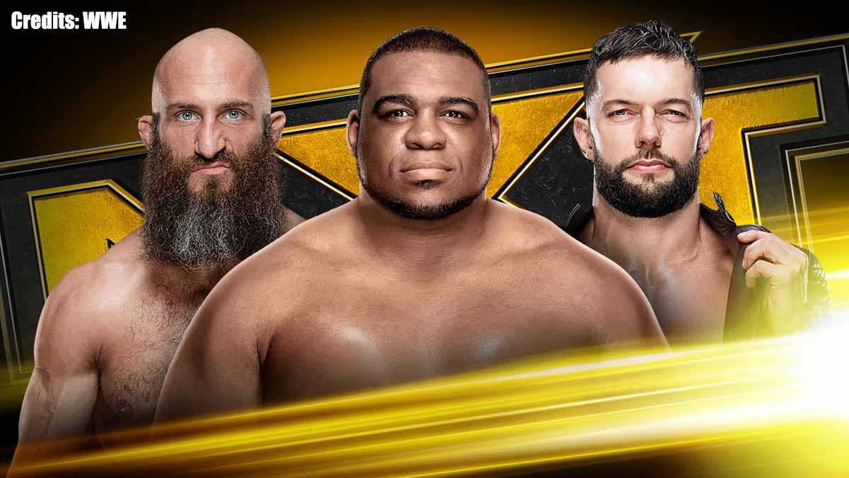 Tommaso Ciampa vs Keith Lee vs Finn Bálor NXT 11 December 2019
