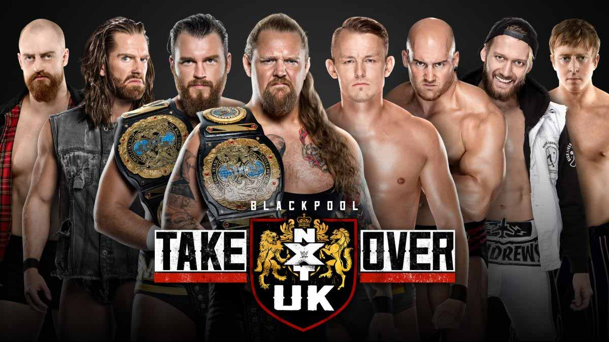 NXT UK Tag Team Ladder Match, NXT Takeover Blackpool 2