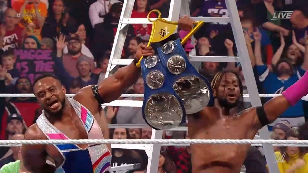 The New Day retained SD Tag Team Titles against The Revival at WWE TLC 2019