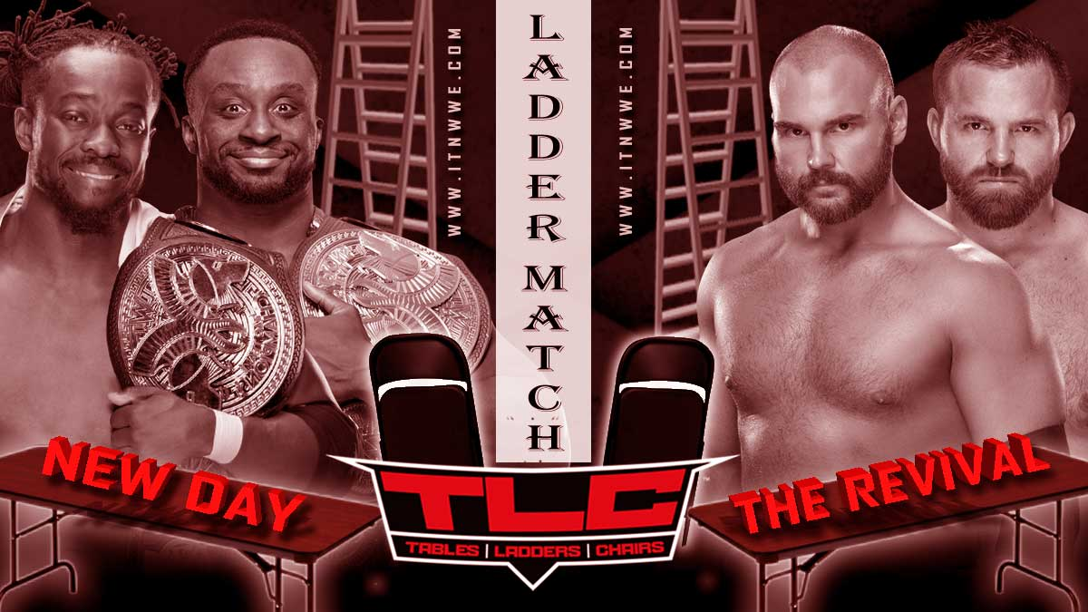 New Day vs Revival Ladder Match for WWE SmackDown Tag Team Championship at TLC 2019