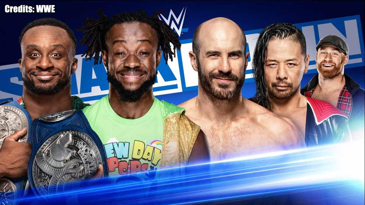 The New Day vs Shinsuke Nakamura & Cesaro- SmackDown 20 December 2019