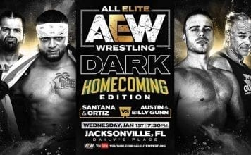 Ortiz Santana vs Billy Gunn Austin AEW Dark 7 Jan 2020