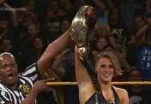 Rhea Ripley Becomes NXT Women's Champion