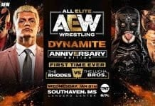 Rhodes Brothers vs Lucha Bros AEW Dynamite 8 Jan 2020