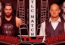 Roman Reigns vs King Baron Corbin WWE TLC 2019