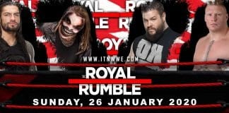 Royal Rumble 2020 Poster