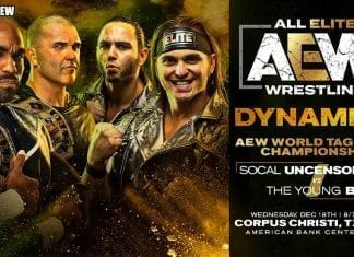 SCU vs Young Bucks AEW Dynamite 18 December 2019