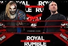 The Fiend vs Daniel Bryan at WWE Royal Rumble 2020