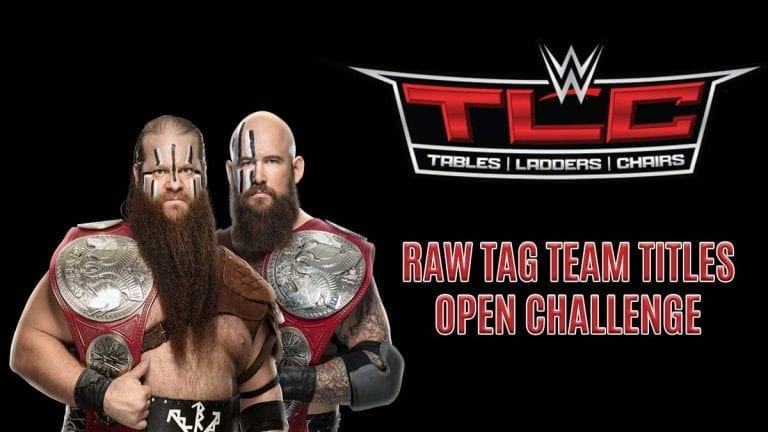 Viking Raiders' Open Challenge Announced For WWE TLC 2019