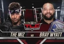 Bray Wyatt will defend WWE Universal Champion against The Miz at WWE TLC 2019