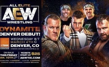AEW Dynamite Denver March 2020