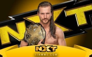 Adam Cole NXT Champion