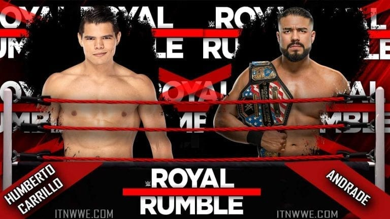 Andrade vs Carrillo Confirmed for Royal Rumble 2020