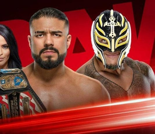 Andrade vs Rey Mysterio- 20 January 2020