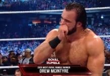 Drew McIntyre Wins Men's Royal Rumble 2020