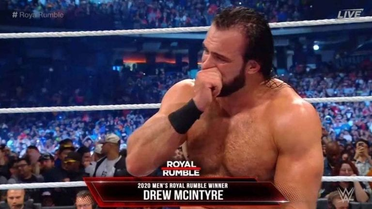 Drew McIntyre Wins Royal Rumble 2020 After Lesnar Dominates