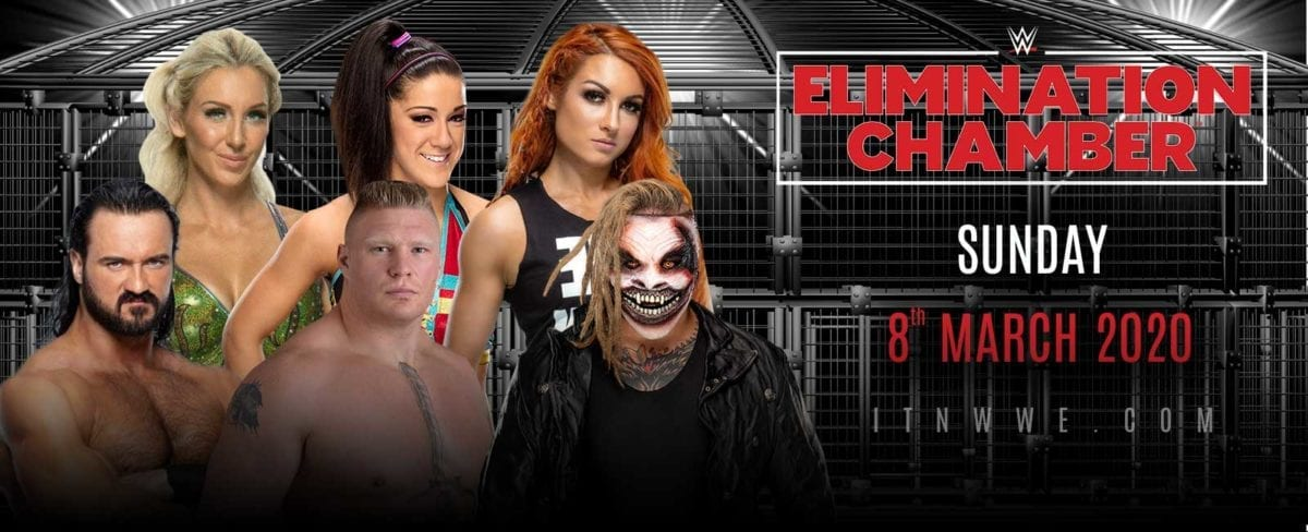 WWE ELimination Chamber 2020 poster