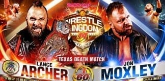Jon Moxley vs Lance Archer NJPW Wrestle Kingdom Night 1